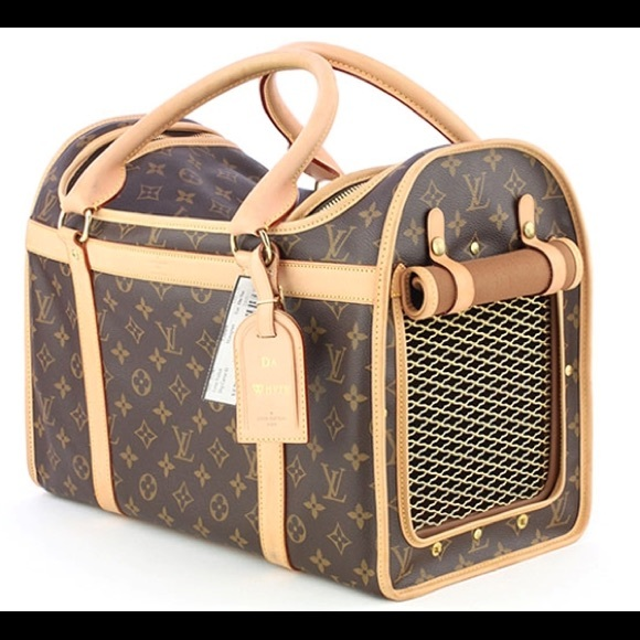 f8b029d35d2 Authentic Louis Vuitton dog carrier 50
